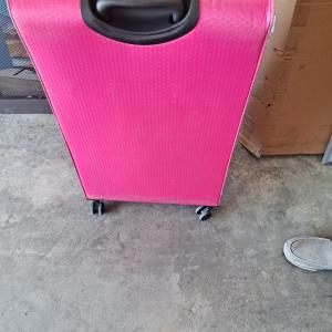 Photo of Pink 31 inch light weight  9 lb suitcase
