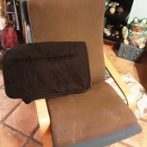 Photo of Two Ikea poang cushions and extra cover