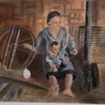 """Vintage Canvas Art on 18"""" x 24"""" canvas"""