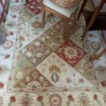 Earth toned Rug  to brighten any room!