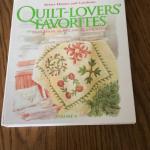 Quilt pattern binders