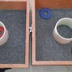 #154 Wooden Washer Toss Game