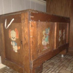 Photo of Toy Chest and Loveseats