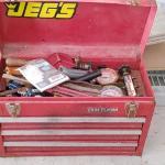 #148 Craftsman Tool Box & Contents