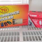 #147 TCI Performance Cooler new in box  & Husky light.