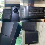 #151 Bose Speakers & ONKYO Stereo System