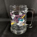 Vintage Mighty Ducks NHL Glass Beer Mug