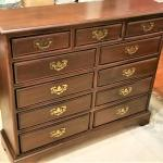 Lot #225  Habersham Plantation - 11 drawer chest