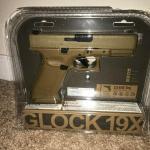 Umarex Glock G5 19X blowback CO2 cal.177 Coyote color