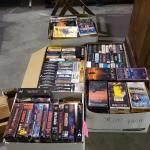 5 Boxes of VHS Tapes -Item #494