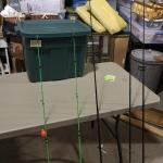 5 Fishing Rods+Reels -Item #493