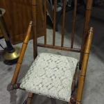 Wooden Rocking Chair -Item #496