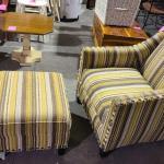 Sofa Chair+Ottoman -Item #485