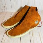 Lot 190  Taos Style Women's Moccasins Rust Color Side Tie