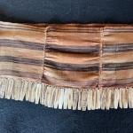 Item 30. Indigenous Amazonian cloth loop/belt for carrying child, adorned with b