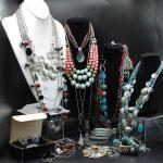#162 Beautiful Large Lot of Costume Jewelry