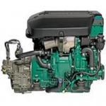 Volvo Penta D4-225 Marine Diesel Engine 225Hp