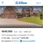 Home for sale in gated community