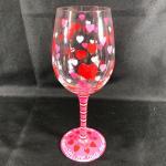 Lolita® Valentine's Day Decorative Wine Glass