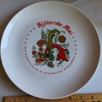 Perfect Syttende Mai plate