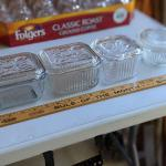4 Vintage containers