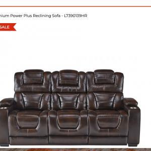 Photo of Titanium Elite Power Reclaining Sofa