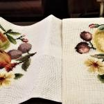 Lot #245  Pair of Needlepoint canvases