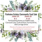 Neighborhood Sale Parkview Estates