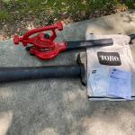 Toro Electric Blower with Accessories