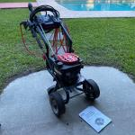 Gas Powered Troy Built Professional Series Pressure Washer