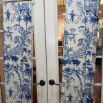 #199 Blue and White Toile de Jouy