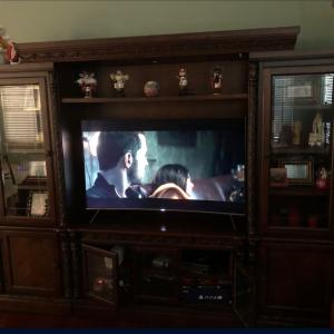 Photo of Solid Wood LARGE Entertainment Center
