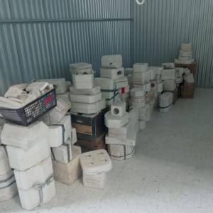 Photo of TAKING OFFERS collection : vintage ceramic slip cast plaster molds