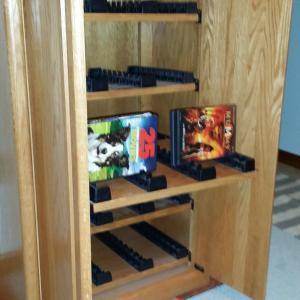 Photo of Media storage cabinet