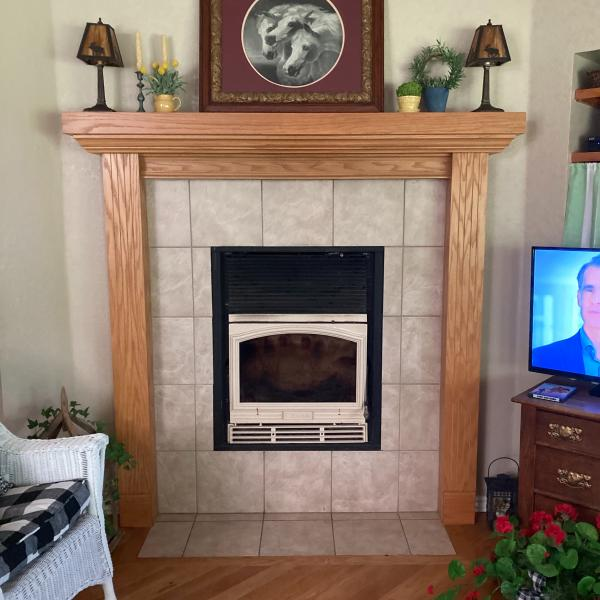 Photo of Fireplace Mantle
