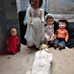 LOT 287 OLD DOLL COLLECTION MADAME ALEXANDER BRIDE