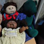 LOT 304 TWO CABBAGE PATCH DOLLS