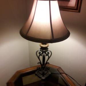 Photo of Lamps and end tables