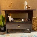 Mission Style End Table with Drawer