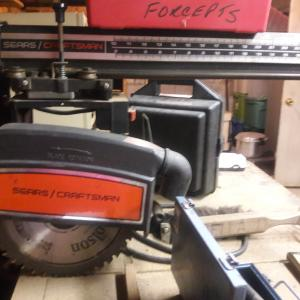 Photo of Radial arm saw