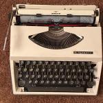 Retro Adler Typewriter