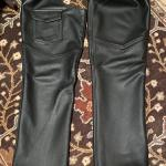 Men's Leather  Motorcycle Custom Chaps