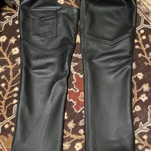 Photo of Men's Leather  Motorcycle Custom Chaps