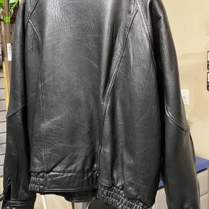 Photo of Men's Black Leather Jacket