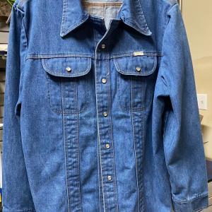 Photo of Men's Extra Large Jeans Jacket