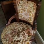 Vintage Victorian era chair