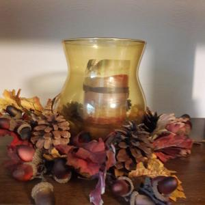Photo of Autumn floral arrangement