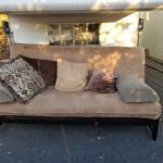 Coil-spring mattress futon