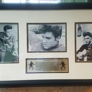 Photo of Elvis Presley collage
