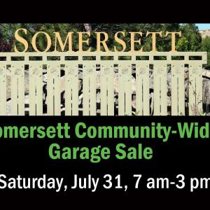 Photo of Somersett Community-Wide Garage Sale